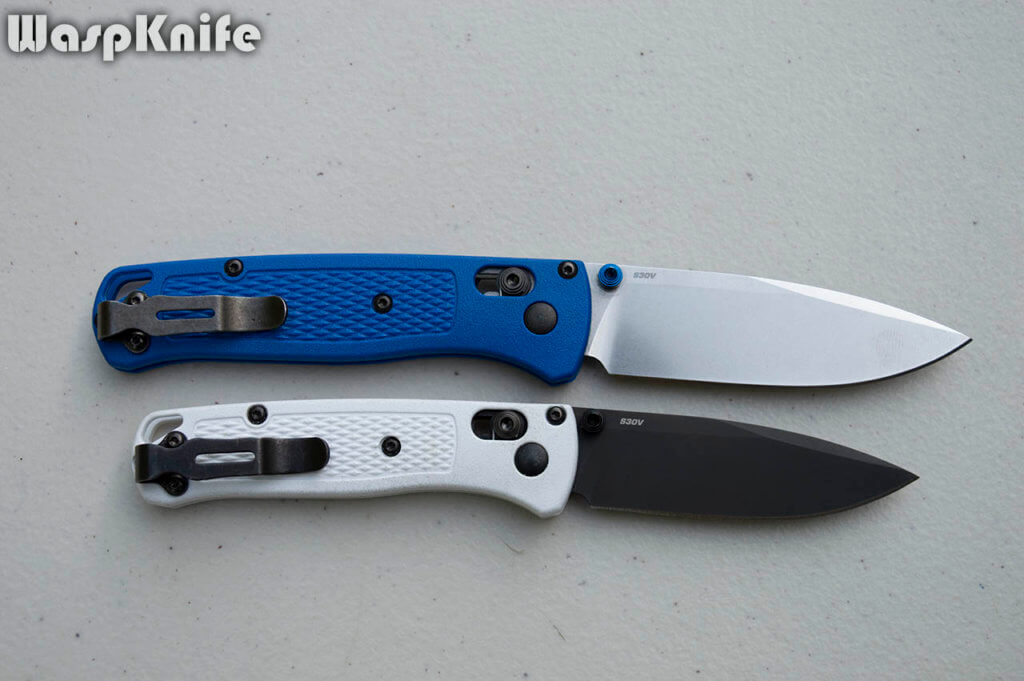 Benchmade Bugout And Mini Bugout