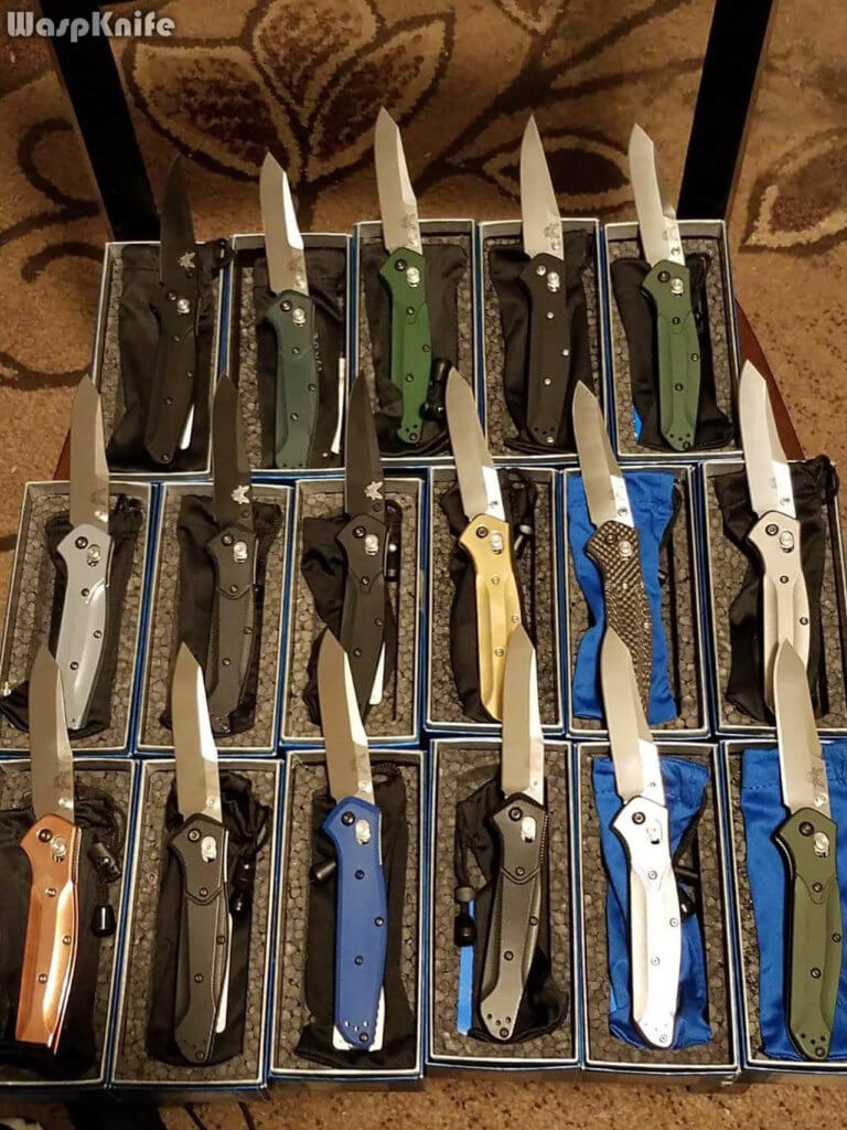 Benchmade 940 Variations And Customizations