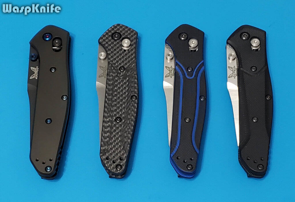 Benchmade 940 Handle Materials