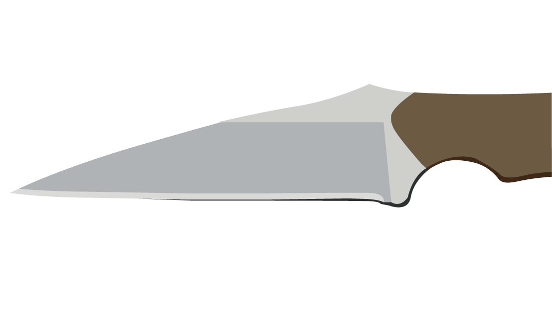 Wharncliffe Blade Shape
